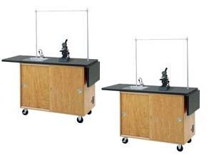 Economy Mobile Lab Table 4121K